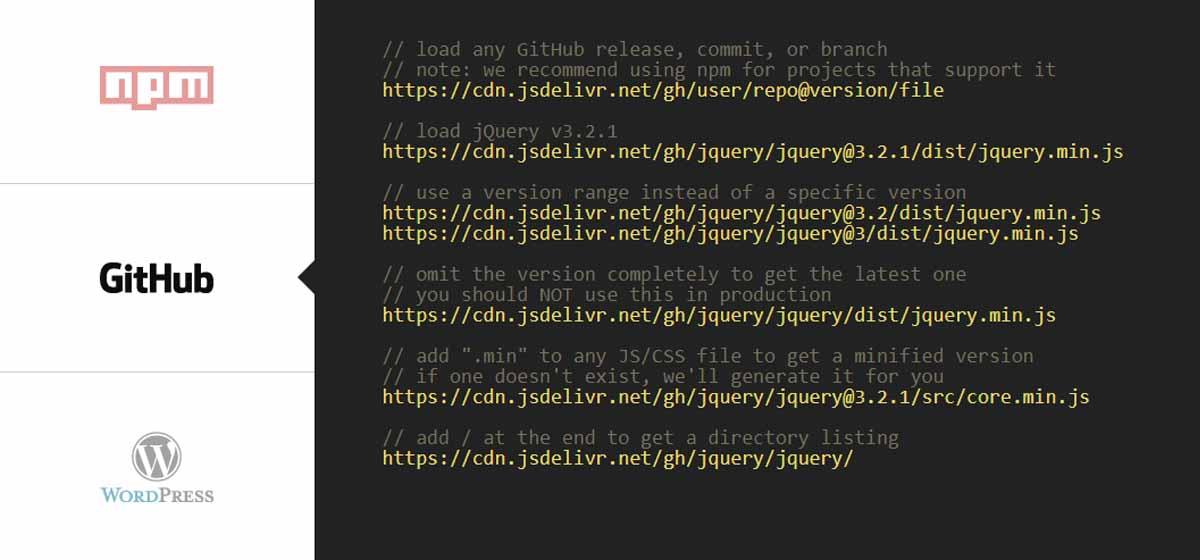 使用JSDelivr的全球免费CDN为GitHub提供国内加速服务